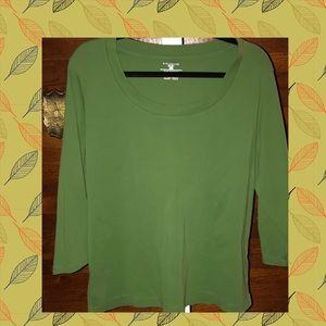 ✨Sale✨ 🍃Jones New York 3/4 sleeve shirt